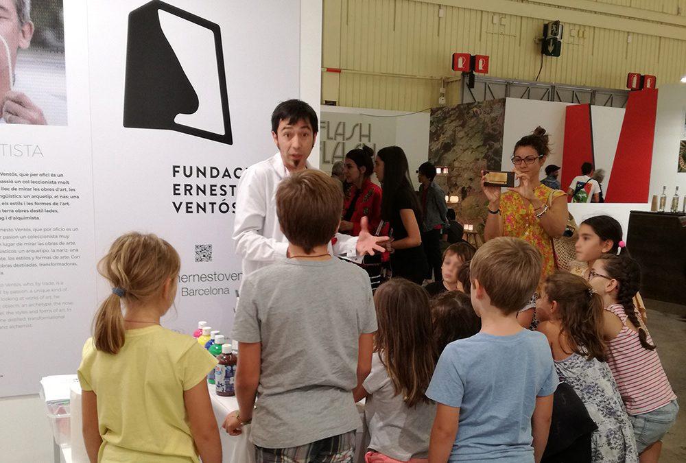 Primeros talleres de la Fundación en la feria SWAB Barcelona