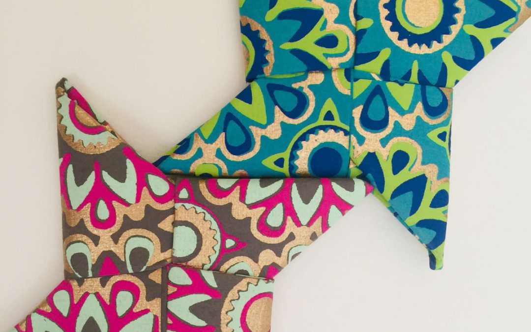 Shurikan. Estrellas de origami perfumadas contra el cáncer infantil
